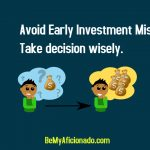 Early Investment Mistake Cover