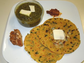 Aalu Paratha with Makkhan