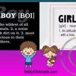 Boys and Girls are different