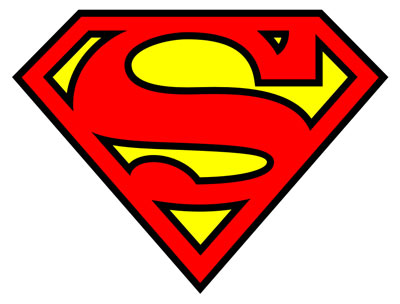 Superman Iconic Logo