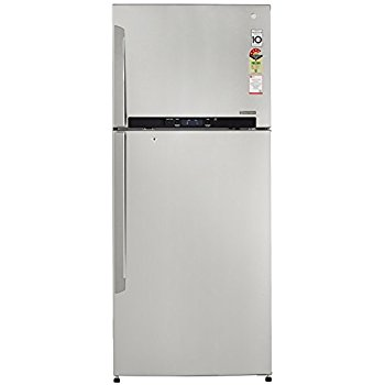 LG 495 L 4 Star Frost-Free Double-Door Refrigerator (GL-T542GNSX, Noble Steel, 2 in 1 Convertible,Inverter Compressor)