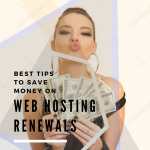 save money on web hosting renewals cover