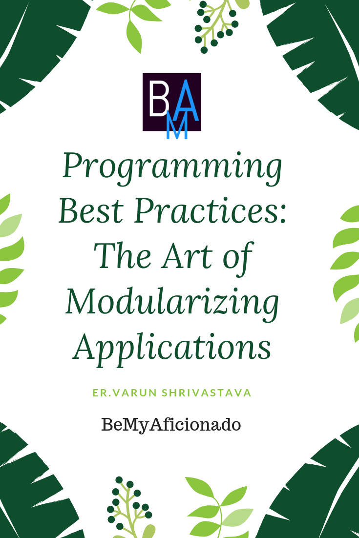Programming Best Practices