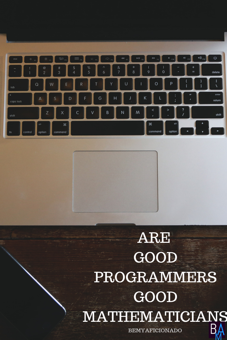 Are Good Programmers Good Mathematicians