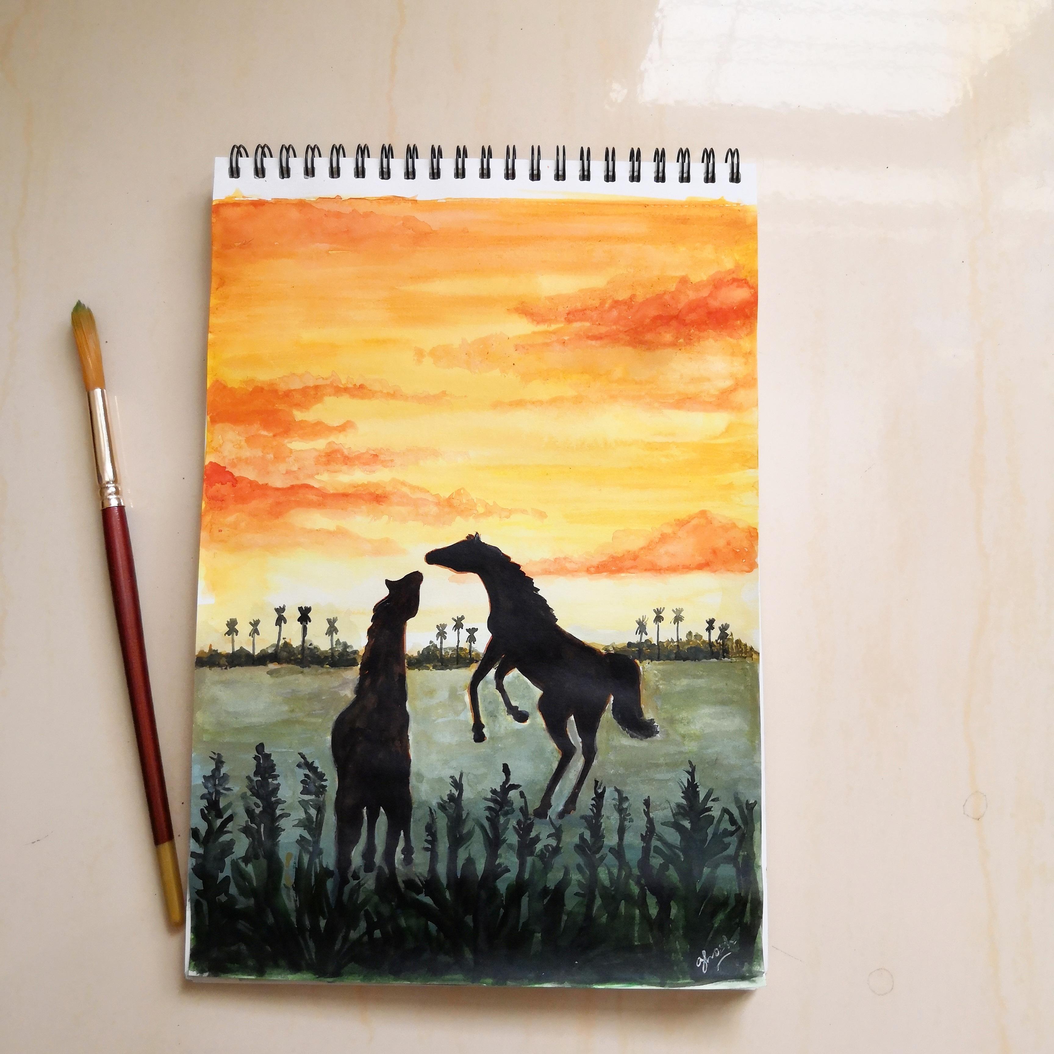 Final Horse Art
