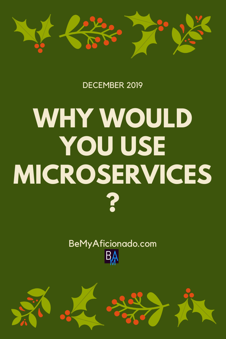 Why would you use microservices cover