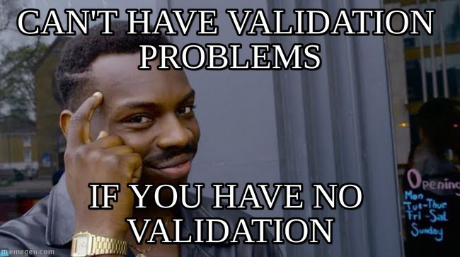 Avoids Incoming Validation is added in monoliths