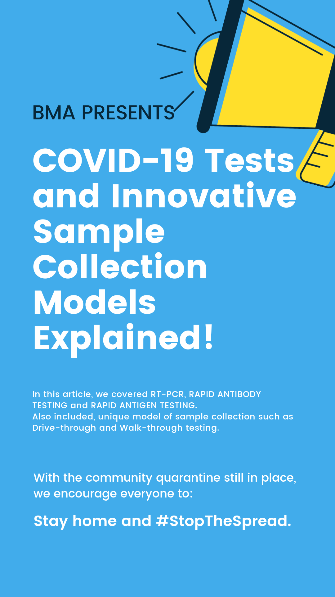 Covid 19 Tests and Innovative Sample Collection