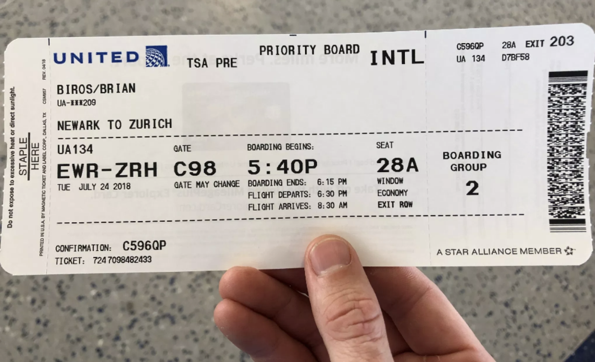 Never Publish Your Airlines Boarding Pass Stories On Social Media