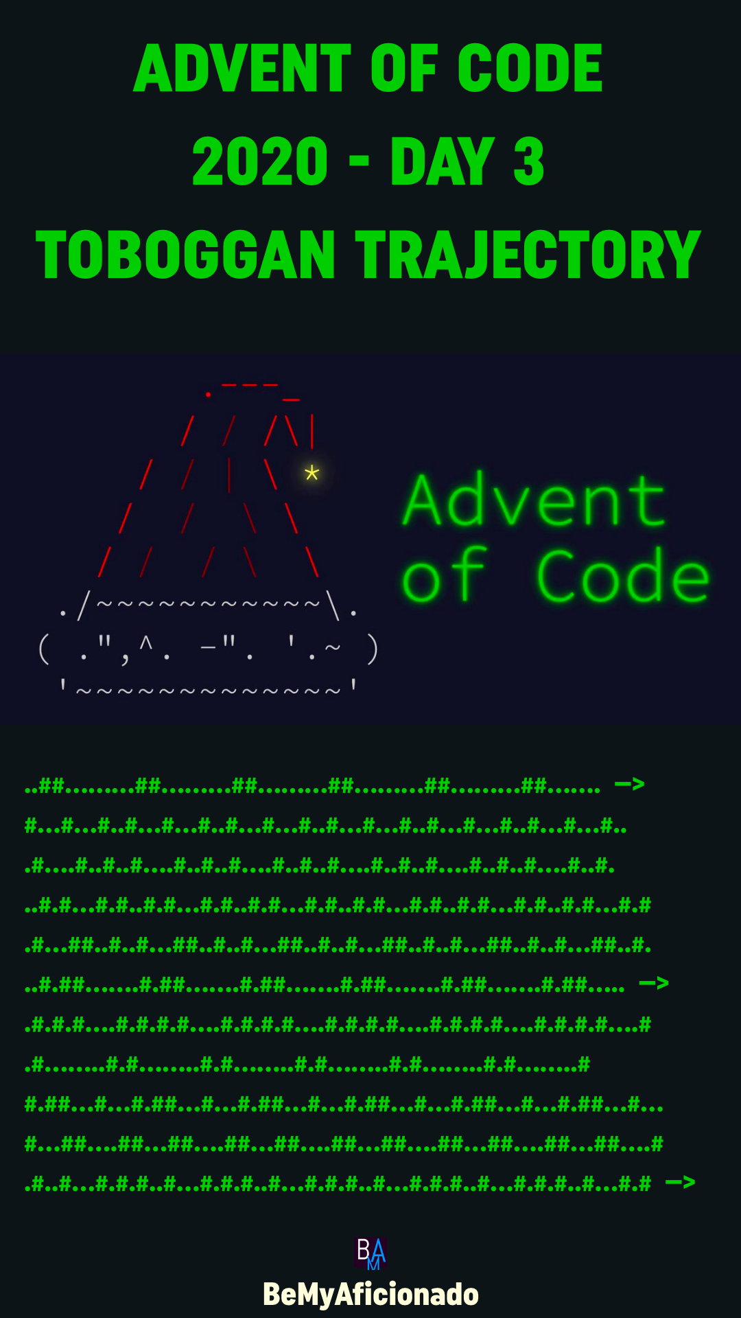 Advent of Code 2020 - DAY 3