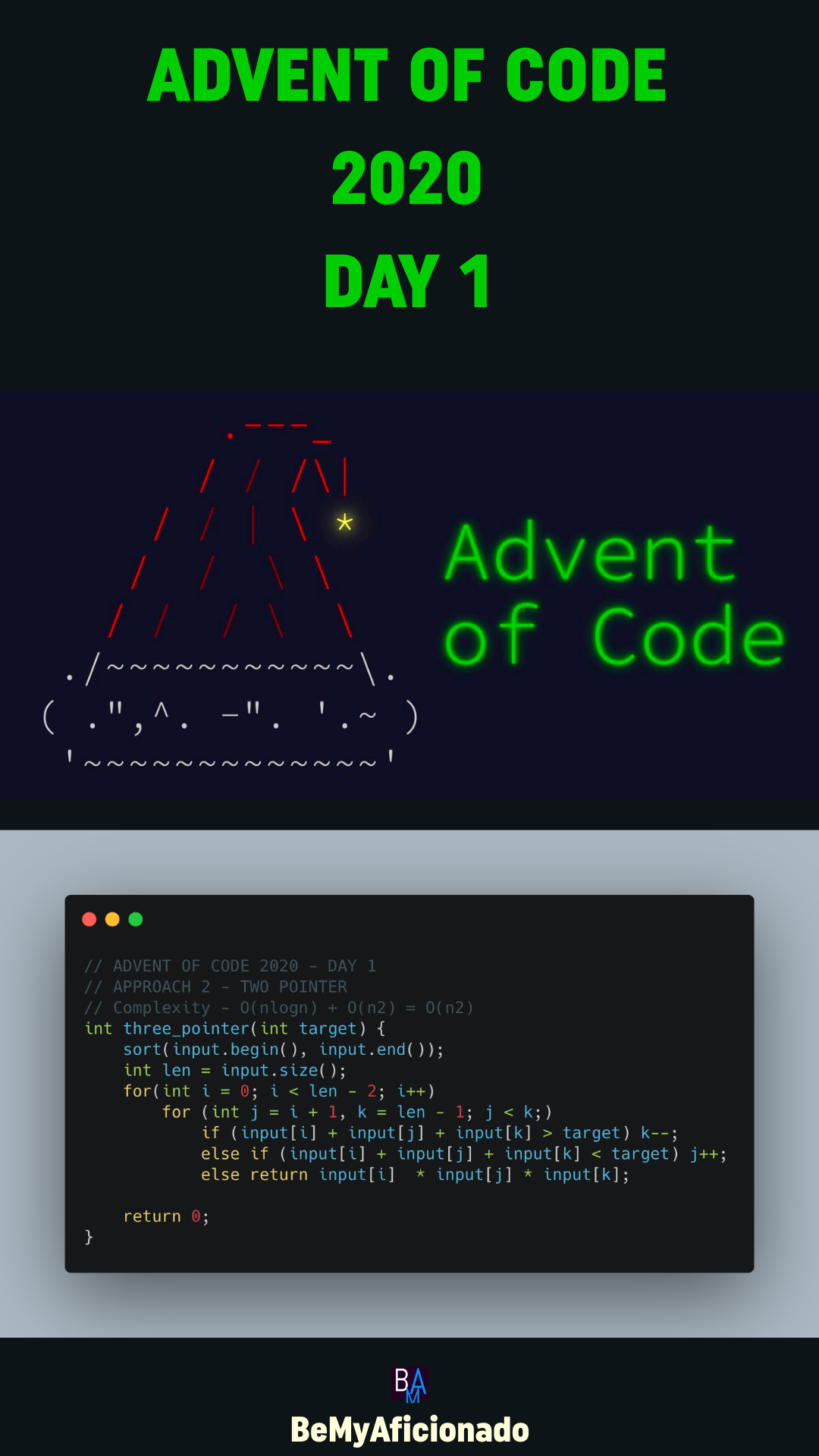 Advent Of Code 2020 - Day 1