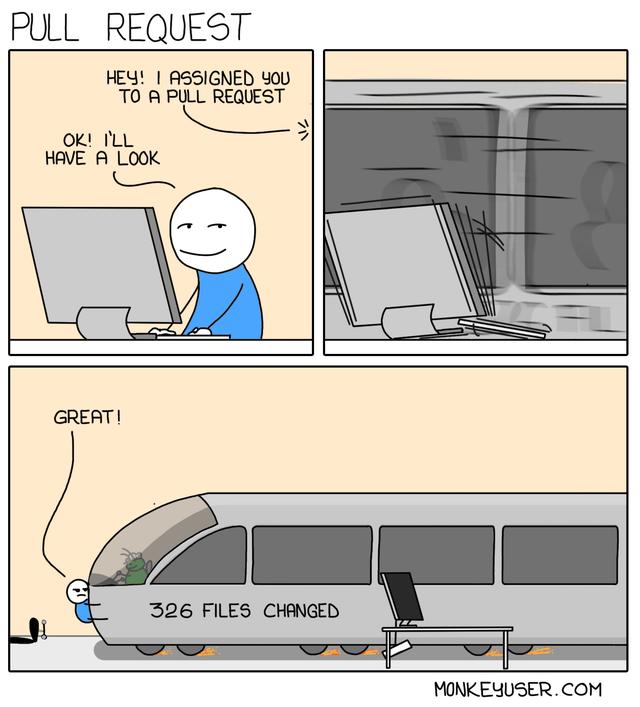 Code Review Big PR